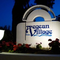 Lagas Aegean Village Sign